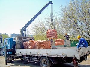 Кирпич - доставим по Днепропетровску